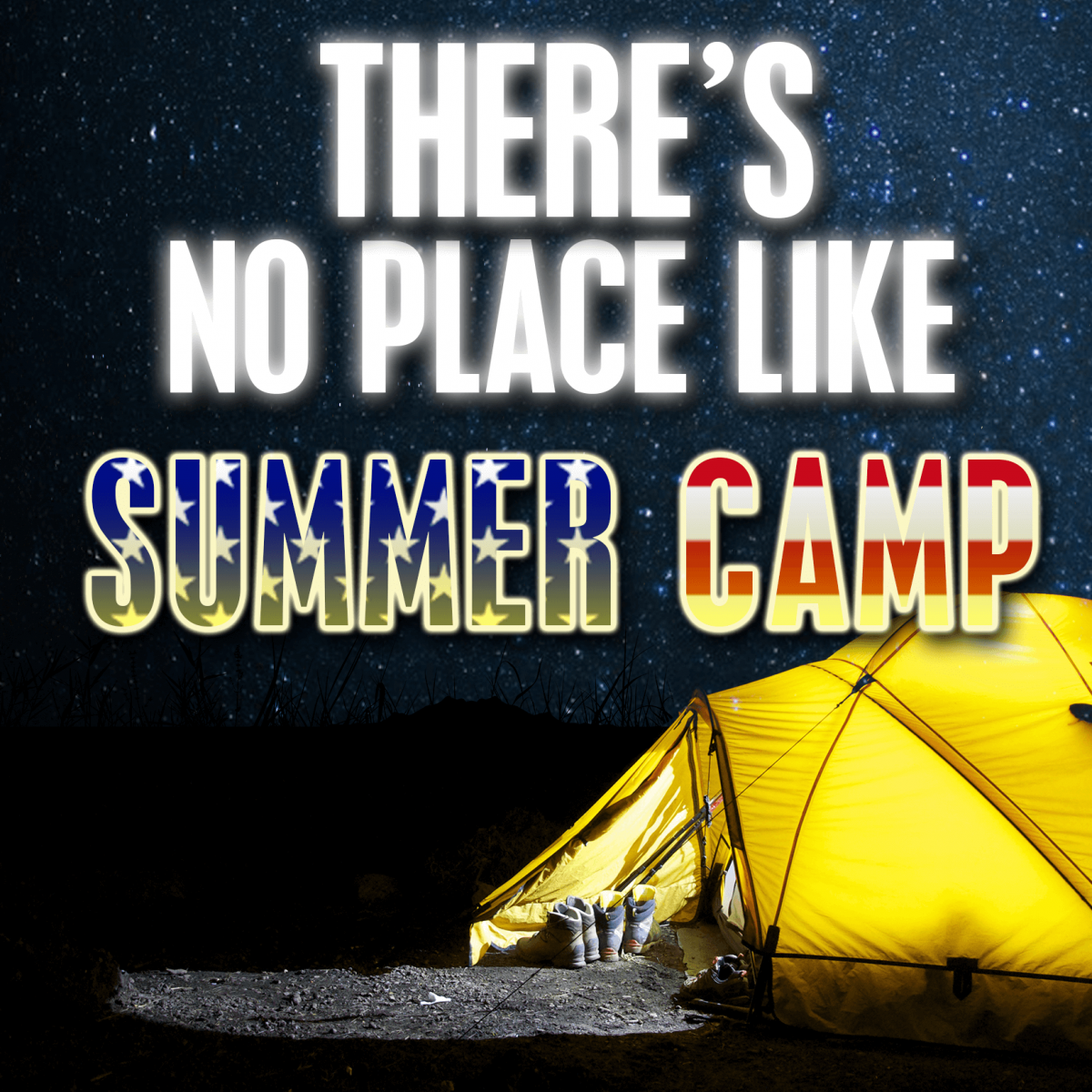 theres no place like summer camp podcast logo