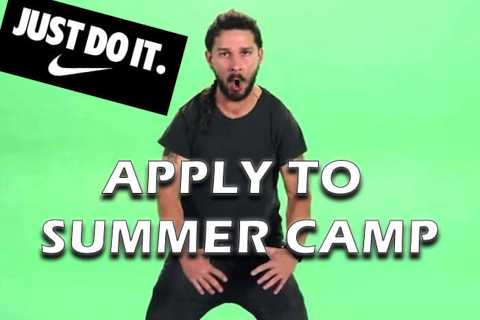 apply to summer camp