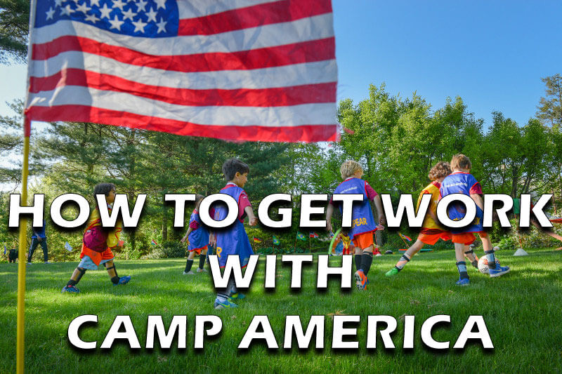 how to get work with camp america